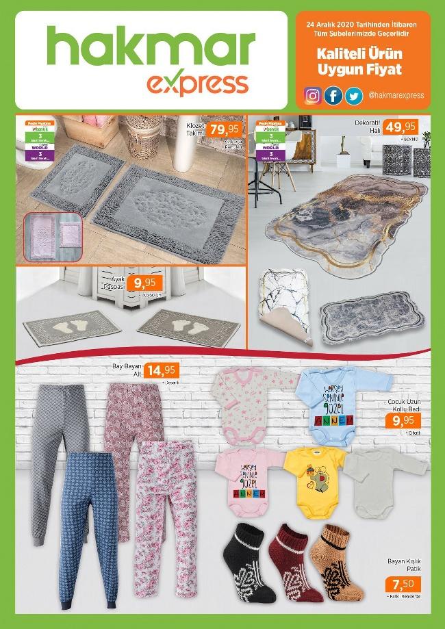 Ev tekstili ürünleri Hakmar'da