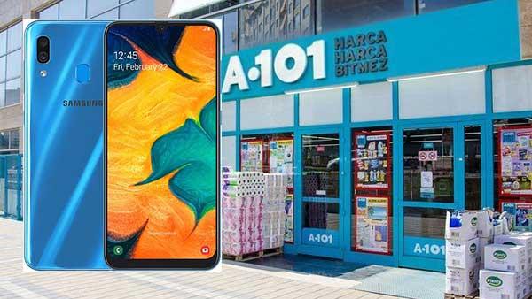 A101 Telefon Kampanyaları: Samsung Galaxy A30S 64GB Cep Telefonu – Siyah (2.799'⁰⁰ TL)