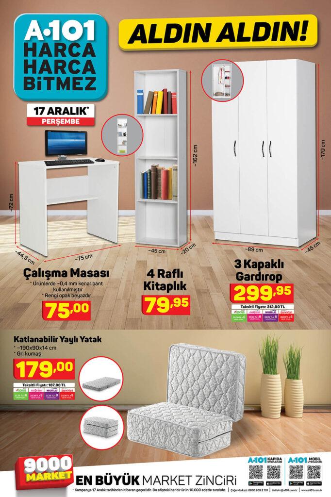 A101 17 Aralık aktüel ürünler kataloğu 6. sayfası